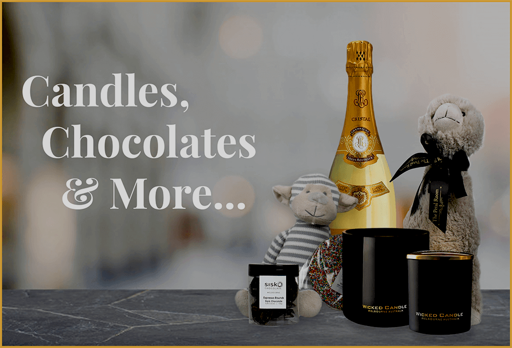 candles chocolates gifts