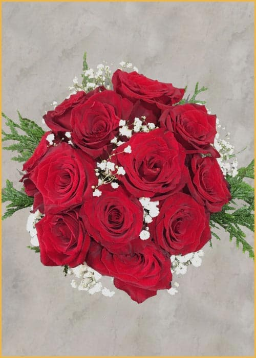 red roses flower delivery